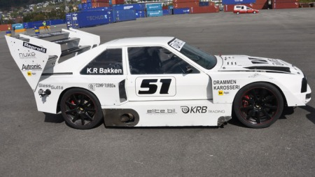 Audi Quattro S1 Kai Roger Bakken KRB