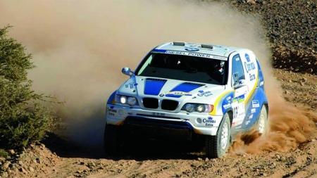 BMW X5 dakar rally