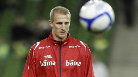 RETT MANN: Lagkameratene mener at Brede Hangeland er den rette kapteinen for Norge. (Foto: Aas, Erlend/SCANPIX)