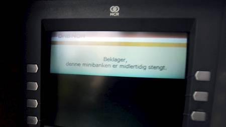 CASH IS KING: 7. juni kan bankansatte være i streik - da gjelder det å ha sikret seg kontanter. (Foto: Junge, Heiko/SCANPIX)