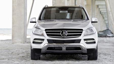 Mercedes ML Rett forfra