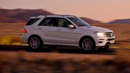 Store SUV-er som Mercedes ML har generelt stort verditap . og det blir virkelig ille hvis man skiller seg ut med