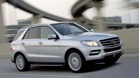 Mercedes ML grå met.