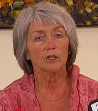 Leder i Gjenopptakelseskommisjonen for straffesaker, Helen Sæter. (Foto: TV 2)