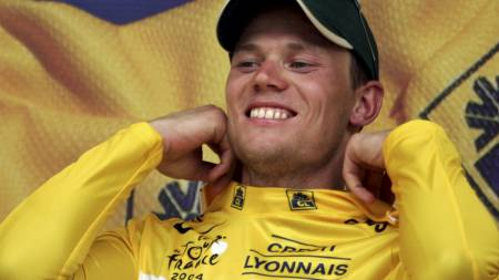 2004 Thor Hushovd (Foto: PAOLO COCCO/AFP)