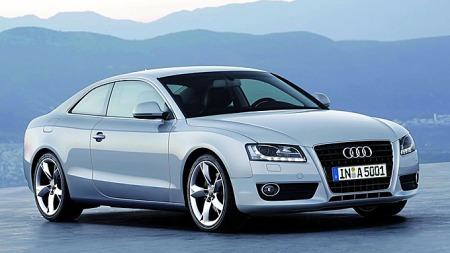 2008 Audi A5. Foto: Netcarshow.com