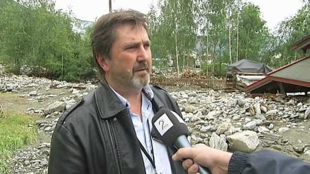 Bjørn Sandbu fra Gjensidige forsikring. (Foto: TV 2)