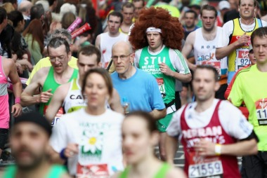 Løpingmarathongruppeny (Foto: Dean Mouhtaropoulos, ©dm)