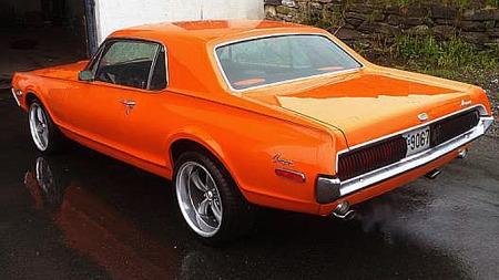 Stylingen på Cougar ble på 60-tallet beskrevet som mer