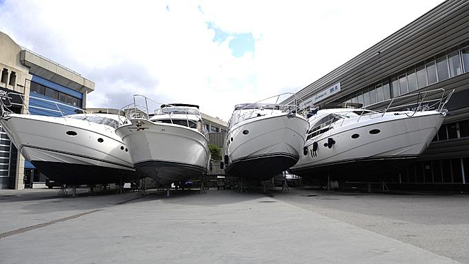 Store Princesser og andre luksusbåter er slett ikke like hot i dag som i jappeårene frem til finanskrisen. Illustrasjonsfoto: Egill J. Danielsen