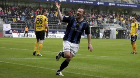 Veigar Pall Gunnarsson er Stabæks toppscorer med sju seriemål.   (Foto: Schrøder, Tor Erik/Scanpix)