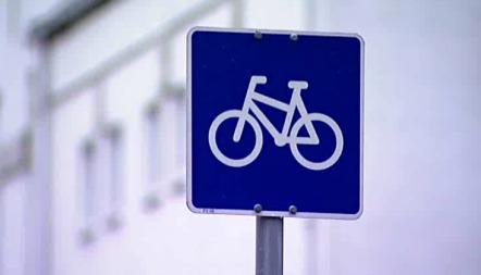 sykkelskilt