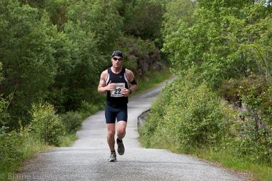 triatlondagolavløper (Foto: Photographer:Bjarne Ludvigsen)