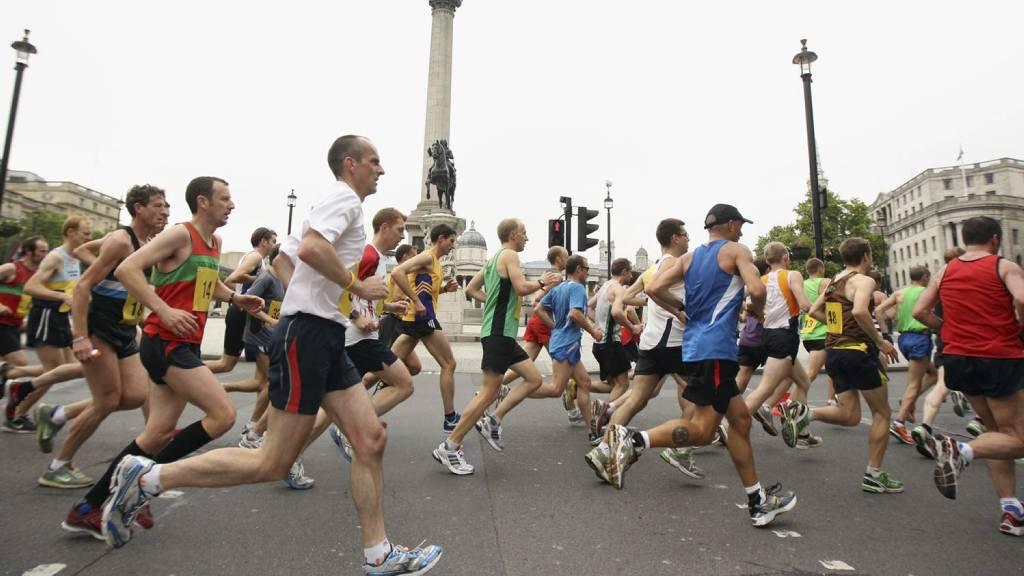 MOTIVERENDE: Å ha et løp å strekke seg etter  kan være positivt for motivasjonen. (Foto: Bryn Lennon/Getty Images)