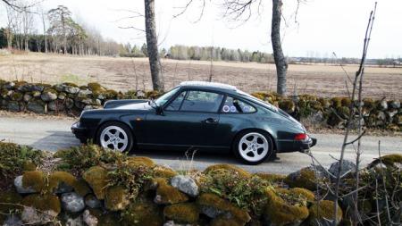 Det er klassiske 911-linjer på 1982 modellen (Foto: Ditlev Eidsmo)