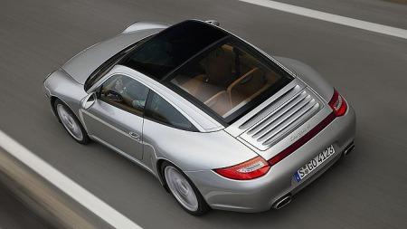Dagen Porsche 911/997 som glasstak-targa