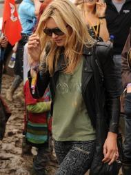 Kate Moss, Glastonbury, festival (Foto: Stella Pictures)