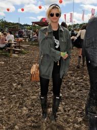 Pixie Geldof, festival, sommer, Glastonbury (Foto: Mulberry)
