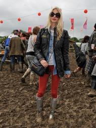 Poppy Delevigne, festival, Glastonbury (Foto: Mulberry)