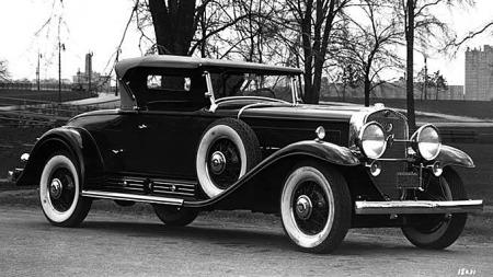 1930 Cadillac V16 Roadster. Foto: GM