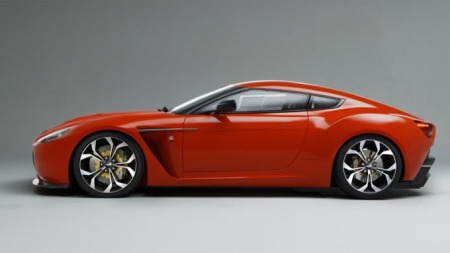 Aston Martin Zagato profilen