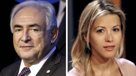 Dominique Strauss-Kahn, Tristane Banon (Foto: FRED DUFOUR/Afp)