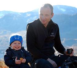 Anders Sten Nessem driver Haukeliseter fjellstue (Foto: Privat)