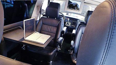 Ikke noe å si på standarden innvendig heller - her bør både   passasjerer og ikke minst fører trives. (Foto: TH)