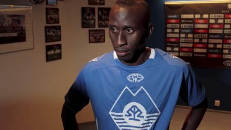 SOLGT: Moldes Pape Pate Diouf er solgt til FC København. (Foto:   Ekornesvåg, Svein Ove/Scanpix)