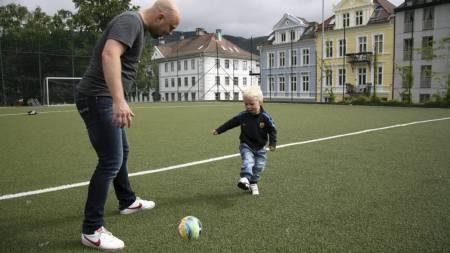 Trening i ferien (Foto: Eivind A. Pettersen/)