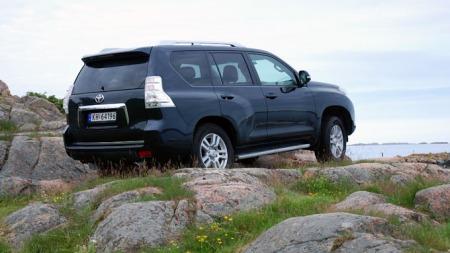 Dette er en luksus-SUV med helt rå terrengegenskaper.  (Foto: Benny Christensen)