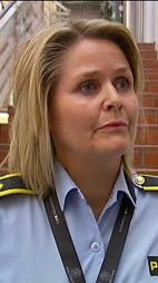 SIKTET 29-ÅRING: Politioverbetjent Grete Metlid bekrefter at en 29-åring er siktet.  (Foto: TV 2)