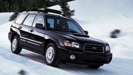 Illustarsjonsbilde. 2005, Subaru Forester 2,5 XT