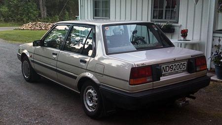 Forrige eier har tatt godt vare på bilen, og kun kjørt med den to vintre siden den var ny. Foto: Privat