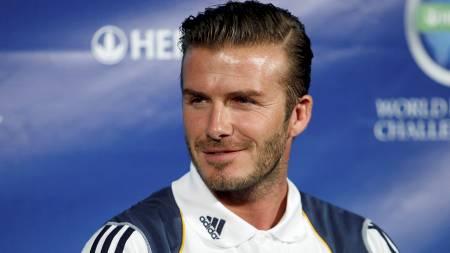 MØTER GAMLE KJENTE: David Beckham. (Foto: ALEX GALLARDO/Reuters)
