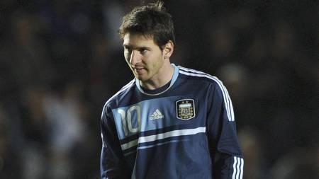Lionel Messi og Argentina er ute av Copa America. (Foto: JUAN MABROMATA/Afp)