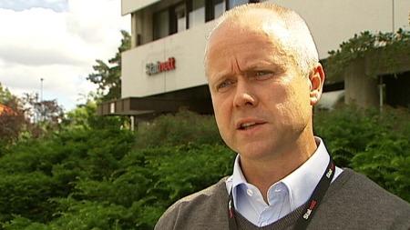 Steinar Bygdås, leder for Sima-Samnanger prosjektet i Statnett. (Foto: TV 2)