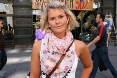 FÅR DET TIL: Noa Lauritzen tror designerne kan få det til.    (Foto: Martine Onstad)