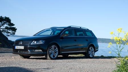 VW Passat forfra