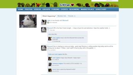 Critter er dyrenes Twitter. I dag kan Maxwell meddele at han   skal ut på en tredagers tur.