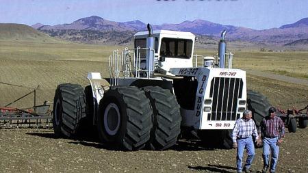 Verdens største traktor