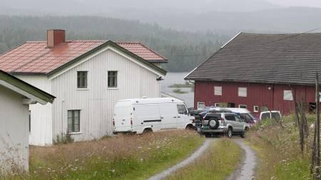 BOMBEGÅRDEN: Gården til Anders Behring Breivik i Åsta i Åmot. (Foto: Brenden, Jo E./Scanpix)