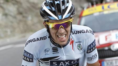 Alberto Contador (Foto: Laurent Cipriani/Ap)