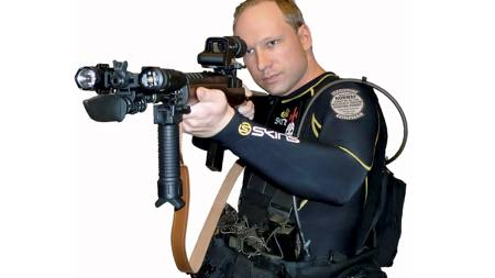 Anders Behring Breivik (Foto: HO/Reuters)