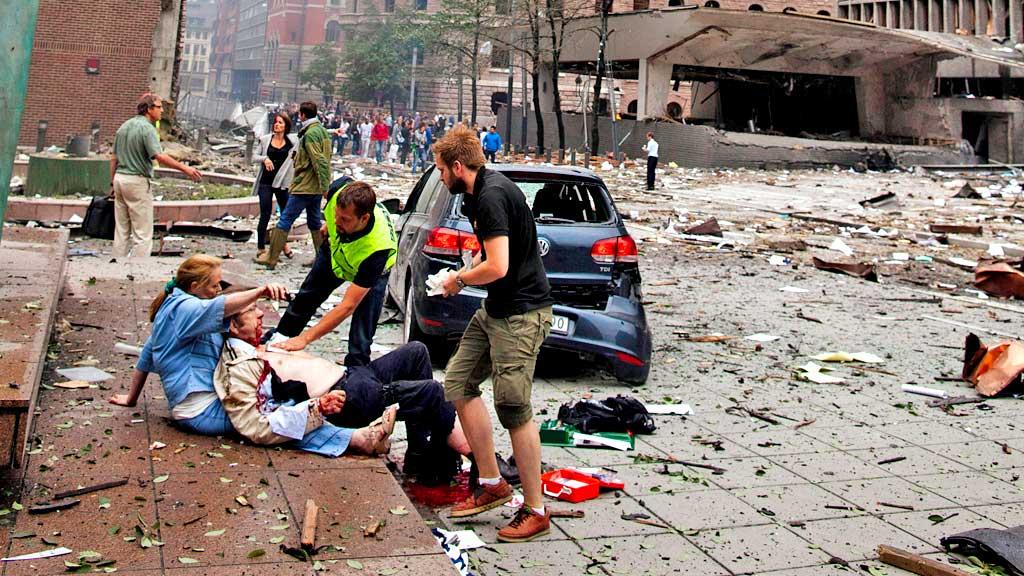 Terror Oslo (Foto: Scanpix)
