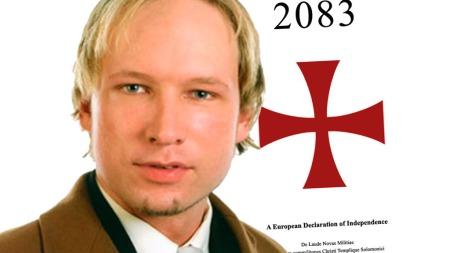 KAN HA HATT SAMTALER MED BRITISKE EKTREMISTER: Terrorsiktede Anders Behring Breivik. (Foto: Faksimile)