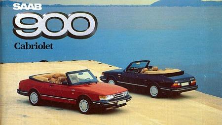 Bilde fra Saab-brosjyren i 1987