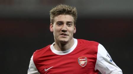 VIL VEKK: Arsenals Nicklas Bendtner. (Foto: Stephen Pond/Pa Photos)