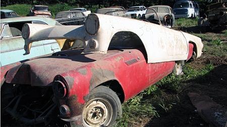 1955 Thunderbird: