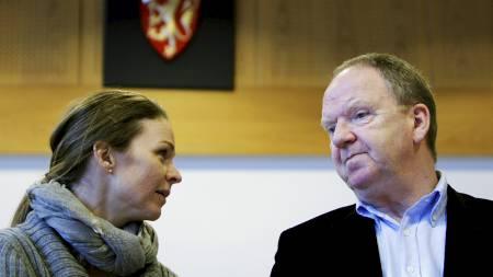 MENER BREIVIK ER UTILREGNELIG: De rettsoppnevnte psykiaterne Synne Sørheim og Torgeir Husby. (Foto: Aas, Erlend/SCANPIX)